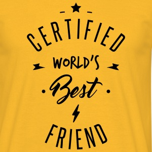 certified best friends - Men's T-Shirt