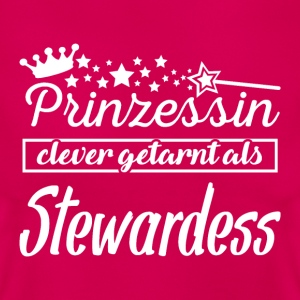 stewardess T-Shirts - Frauen T-Shirt