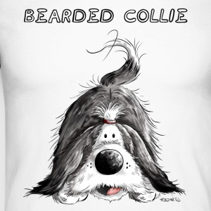Bearded Collie Manches longues - T-shirt baseball manches longues Homme