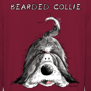 Bearded Collie Sweat-shirts - Sweat-shirt à capuche unisexe