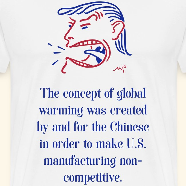 Global warming created by the Chinese !
