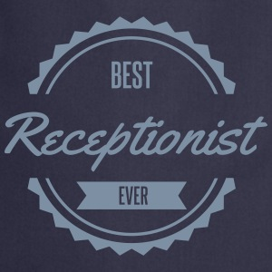 best receptionist  Aprons - Cooking Apron
