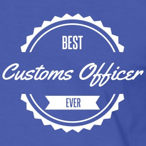 best customs officer douane douanier Tee shirts - T-shirt contraste Homme
