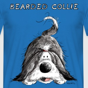 Bearded Collie Tee shirts - T-shirt Homme