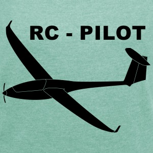 rc - pilot T-Shirts - Women's T-shirt with rolled up sleeves