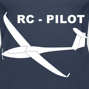 rc - pilot Tops - Women's Premium Tank Top