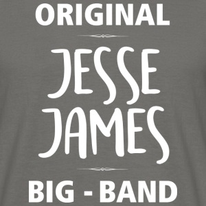 Jesse James Big Band Eslarn - Männer T-Shirt