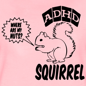 ADHD Squirrel T-Shirts - Frauen Premium T-Shirt