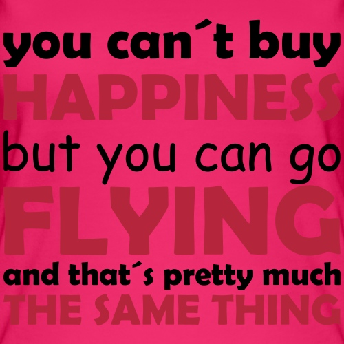 happiness flying