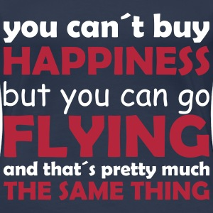 happiness flying T-Shirts - Frauen Premium T-Shirt