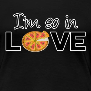 Pizza Love T-Shirts - Frauen Premium T-Shirt