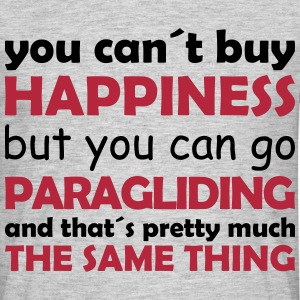 happiness paragliding T-Shirts - Men's T-Shirt