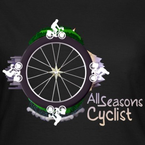All seasons cyclist Tee shirts - T-shirt Femme