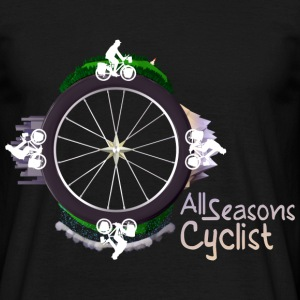 All seasons cyclist Tee shirts - T-shirt Homme