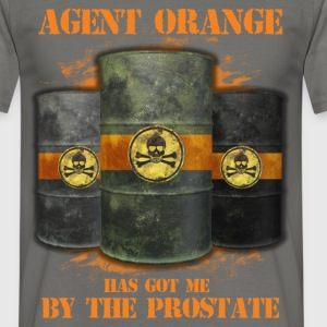 Agent orange has got me by the prostate - Men's T-Shirt