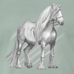 Cold-blood horse T-shirts - Herre premium T-shirt