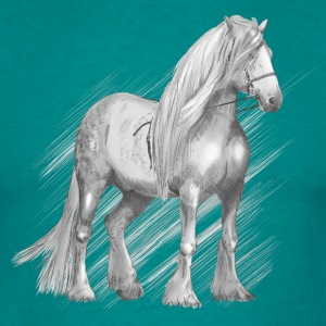 Cold-blood horse T-Shirts - Men's T-Shirt