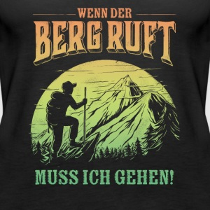 Mountain is calling - Der Berg ruft RAHMENLOS Geschenk Outdoor Sports 13 FS03 Tops - Frauen Premium Tank Top