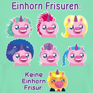 Einhorn Frisuren T-Shirts - Frauen T-Shirt