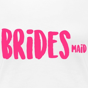 BRIDESmaid Brautjungfer T-Shirts - Frauen Premium T-Shirt