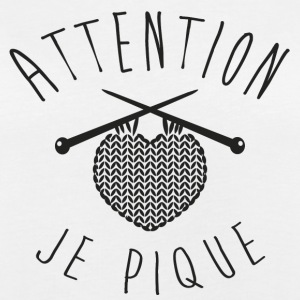 Attention je pique Tee shirts - T-shirt oversize Femme
