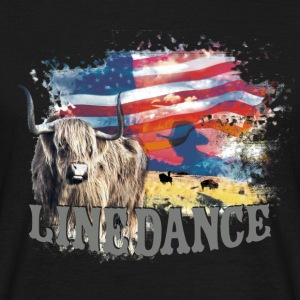 kl_linedance23b T-Shirts - T-skjorte for menn