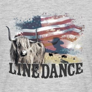 kl_linedance23a T-Shirts - T-skjorte for menn