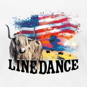 kl_linedance23 T-Shirts - Premium T-skjorte for kvinner