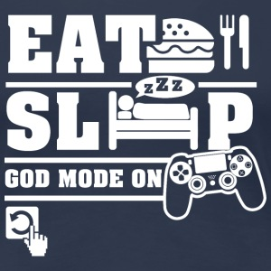 Eat Sleep PS T-Shirts - Women's Premium T-Shirt