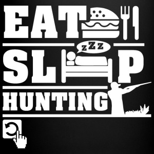 Eat Sleep Hunting Mugs & Drinkware - Full Colour Mug