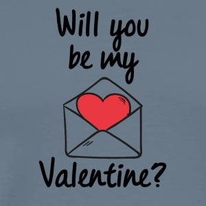 Will you be my Valentine? - Männer Premium T-Shirt
