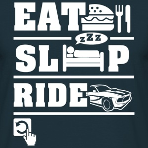 Eat Sleep Ride T-Shirts - Men's T-Shirt