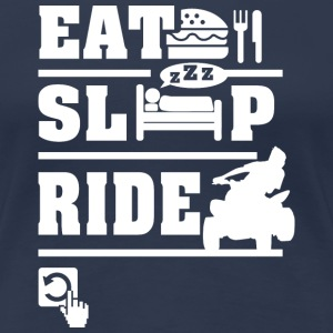 Eat Sleep Ride T-Shirts - Women's Premium T-Shirt