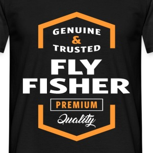 Fly Fisher Logo T-shirt - Men's T-Shirt