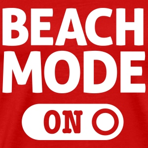 beach mode T-Shirts - Men's Premium T-Shirt
