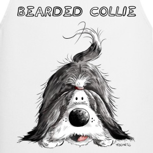 Playing Bearded Collie  Aprons - Cooking Apron