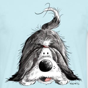 Funny Bearded Collie T-Shirts - Men's T-Shirt