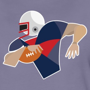 Football American Football Touchdown Bowl Patriot - Frauen Premium T-Shirt