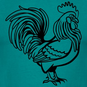 Cock witty bird T-Shirts - Men's T-Shirt