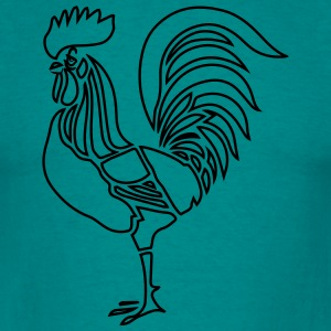 Cock witty stylized T-Shirts - Men's T-Shirt