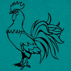 Rooster proud T-Shirts - Men's T-Shirt