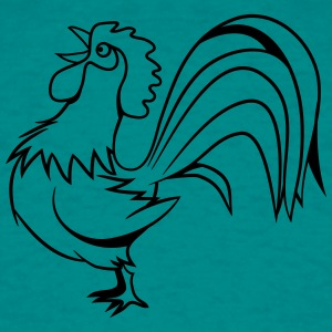 Rooster chant des oiseaux Tee shirts - T-shirt Homme