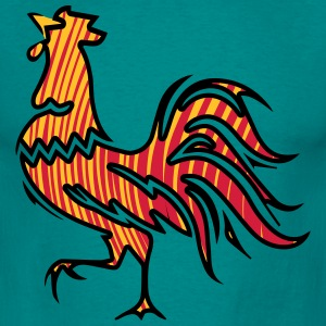 Rooster crow design T-Shirts - Men's T-Shirt