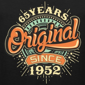 65 Years Original since 1952 - RAHMENLOS Birthday Shirt Design Sportbekleidung - Männer Premium Tank Top
