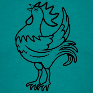 Cock crow T-Shirts - Men's T-Shirt