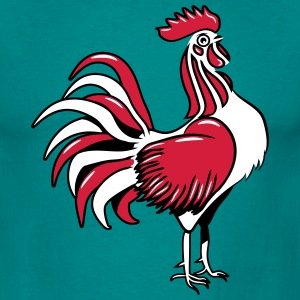 Cock design stylized T-Shirts - Men's T-Shirt