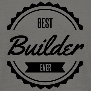 best builder Tee shirts - T-shirt Homme