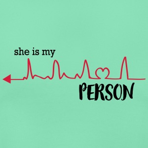 she_is_my_person_left T-Shirts - Frauen T-Shirt