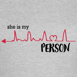 she_is_my_person_left T-Shirts - Women's T-Shirt