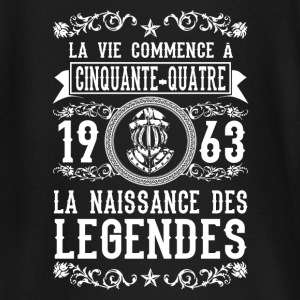 1963 - 54 ans - Légendes - 2017 Tee shirts manches longues Bébés - T-shirt manches longues Bébé